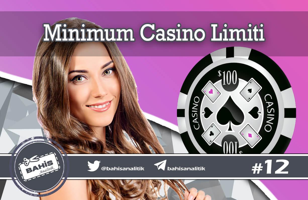 En Az Para Çekme Limiti Olan Casino Siteleri
